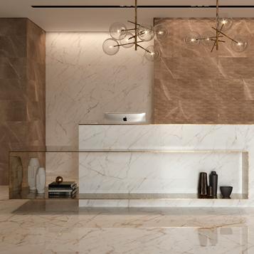 Fliesen: Braun Badezimmer | Marazzi