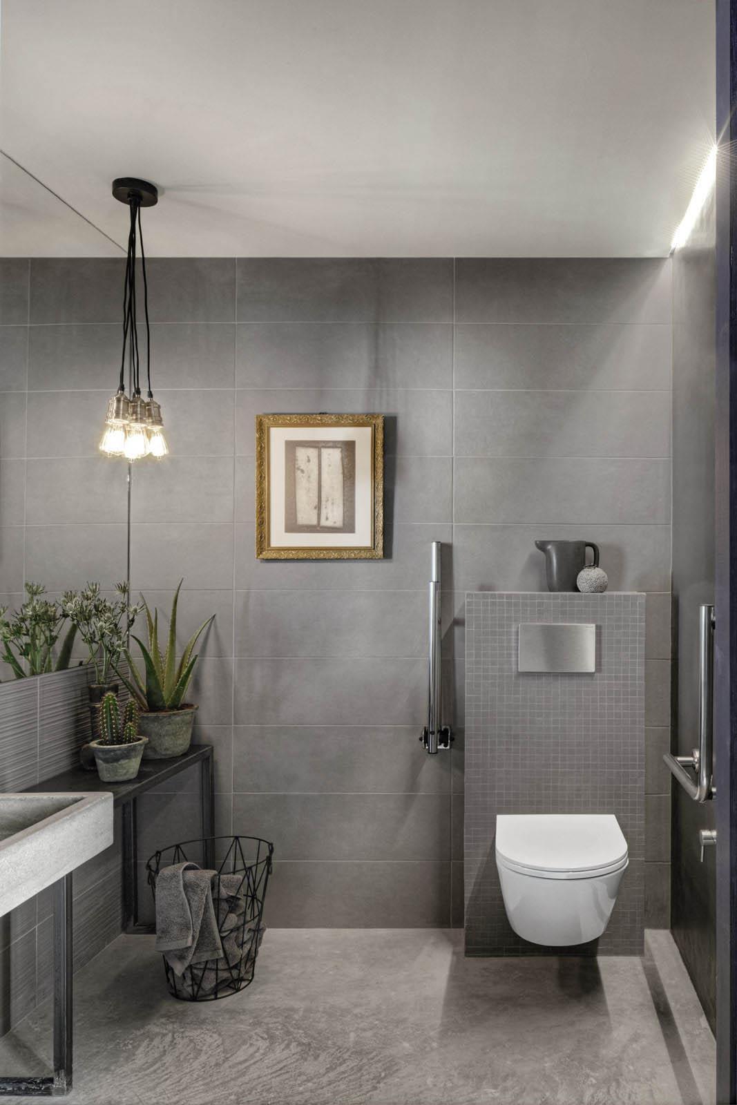 Badezimmer Betonoptik chalk wandverkleidung in zementoptik marazzi