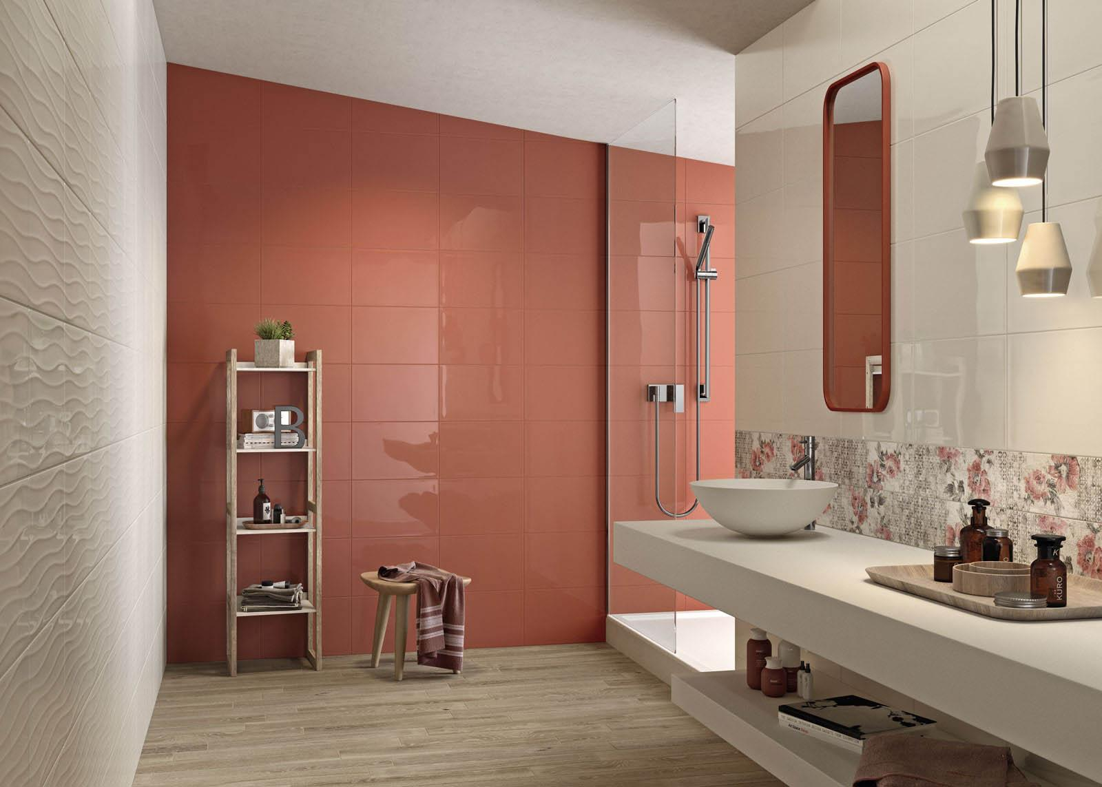 Fliesen Orange Badezimmer Marazzi - Marazzi fliesen kaufen