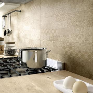 Fliesen beige betonoptik cottooptik marazzi - Marazzi rivestimenti cucina ...