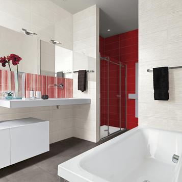 Fliesen Badezimmer Rot   Marazzi_813
