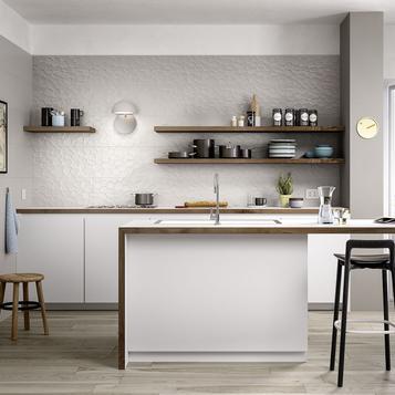 fliesen wandfliesen grau marazzi. Black Bedroom Furniture Sets. Home Design Ideas