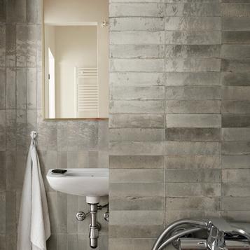 Fliesen: Grau Badezimmer   Marazzi