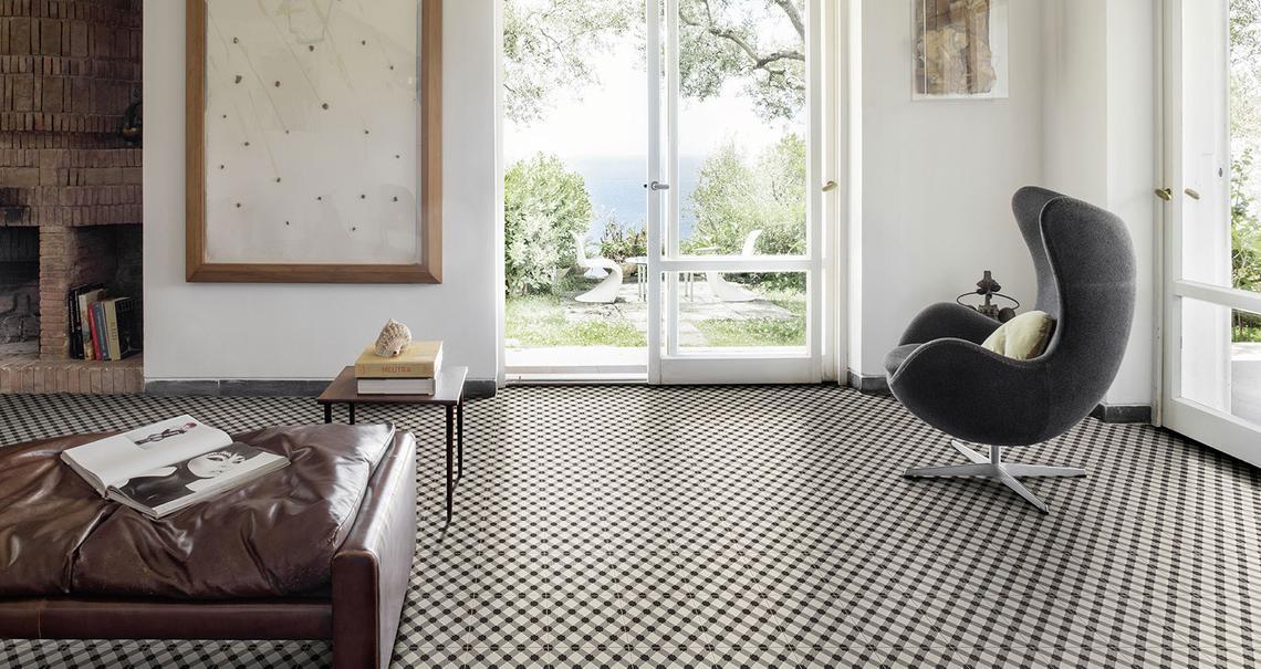 Fliesen Für Das Wohnzimmer: Gestaltungideen Mit Keramik Und Feinsteinzeug    Marazzi 8641