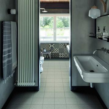 Fantastisch Fliesen Badezimmer Grau   Marazzi_821