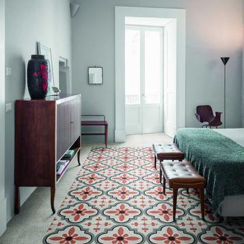 Fliesen: Rot Schlafzimmer | Marazzi