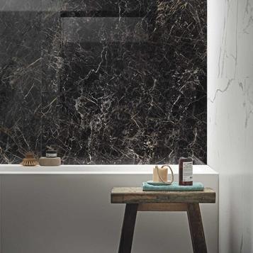 Fliesen: Schwarz Badezimmer | Marazzi