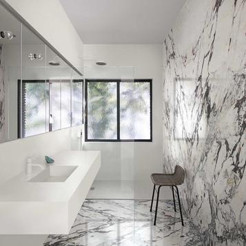 Fliesen Marmoroptik Badezimmer Marazzi