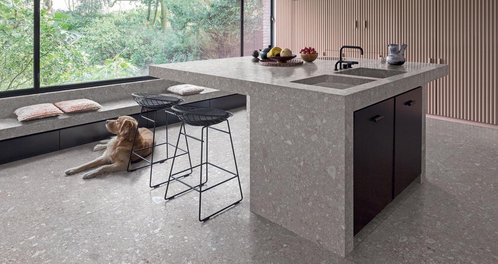 Charmant Auswahl Einer Farbe Für Küchenboden Fotos - Küche Set Ideen ...