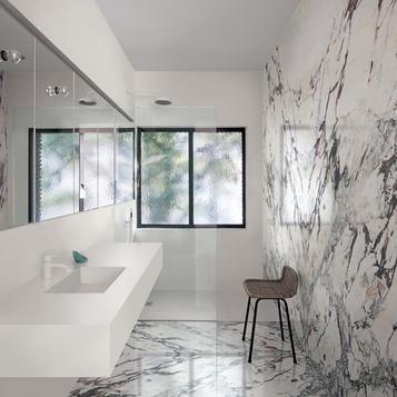 Fliesen: Weiß Badezimmer | Marazzi