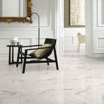 Fliesen: Marmoroptik Wohnzimmer | Marazzi