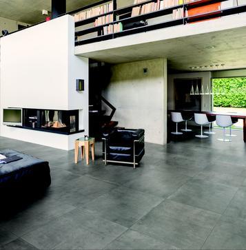 fliesen grau k che marazzi. Black Bedroom Furniture Sets. Home Design Ideas