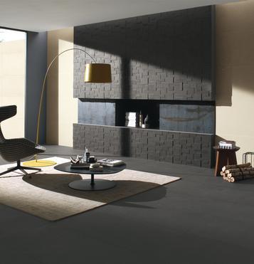 Grose Wohnzimmer Fliesen  Wohnzimmer Ideen
