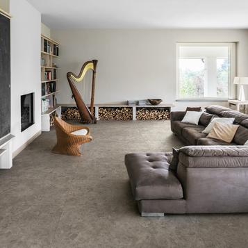 Fliesen: Grau Wohnzimmer   Marazzi