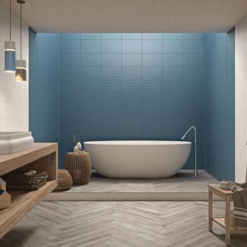 Badezimmer Blau fliesen blau badezimmer marazzi