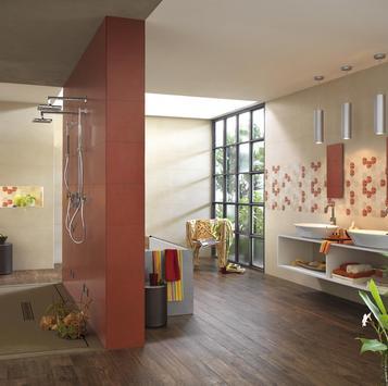 Fliesen Badezimmer Rot - Marazzi_551