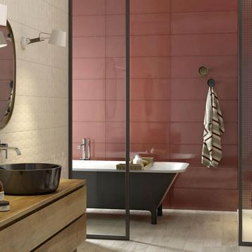 Fliesen Badezimmer Rot   Marazzi_744