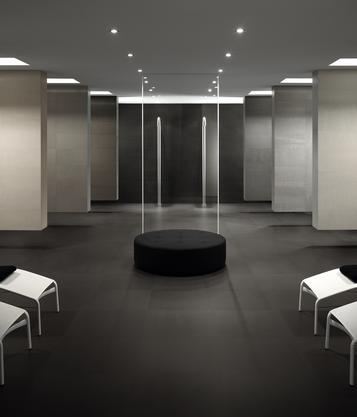 Fliesen: Schwarz Wohnzimmer | Marazzi Wohnzimmer Fliesen Schwarz