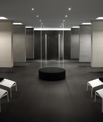 fliesen grau badezimmer marazzi. Black Bedroom Furniture Sets. Home Design Ideas