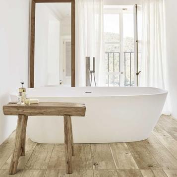 Fabulous Fliesen: Holzoptik Badezimmer | Marazzi GO09