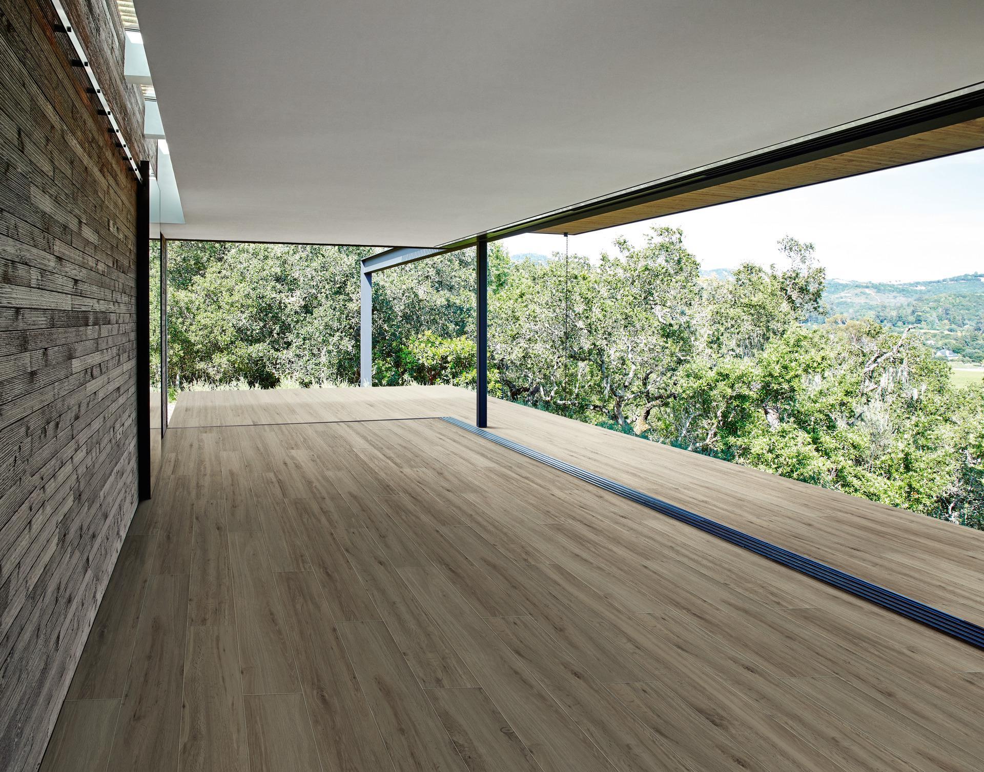 Außergewöhnlich Bodenbelag Außenbereich Frostsicher Dekoration Von Treverkview - Holzoptik - Außenbereich