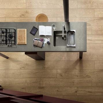 Fliesen: Holzoptik Küche   Marazzi
