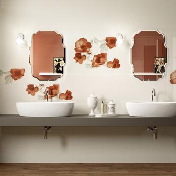 Fliesen Badezimmer Orange   Marazzi_580