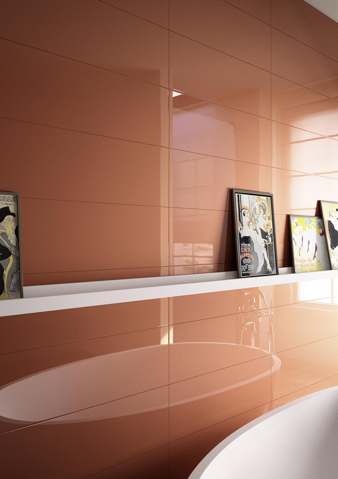 fliesen in der farbe orange unsere kollektionen marazzi. Black Bedroom Furniture Sets. Home Design Ideas
