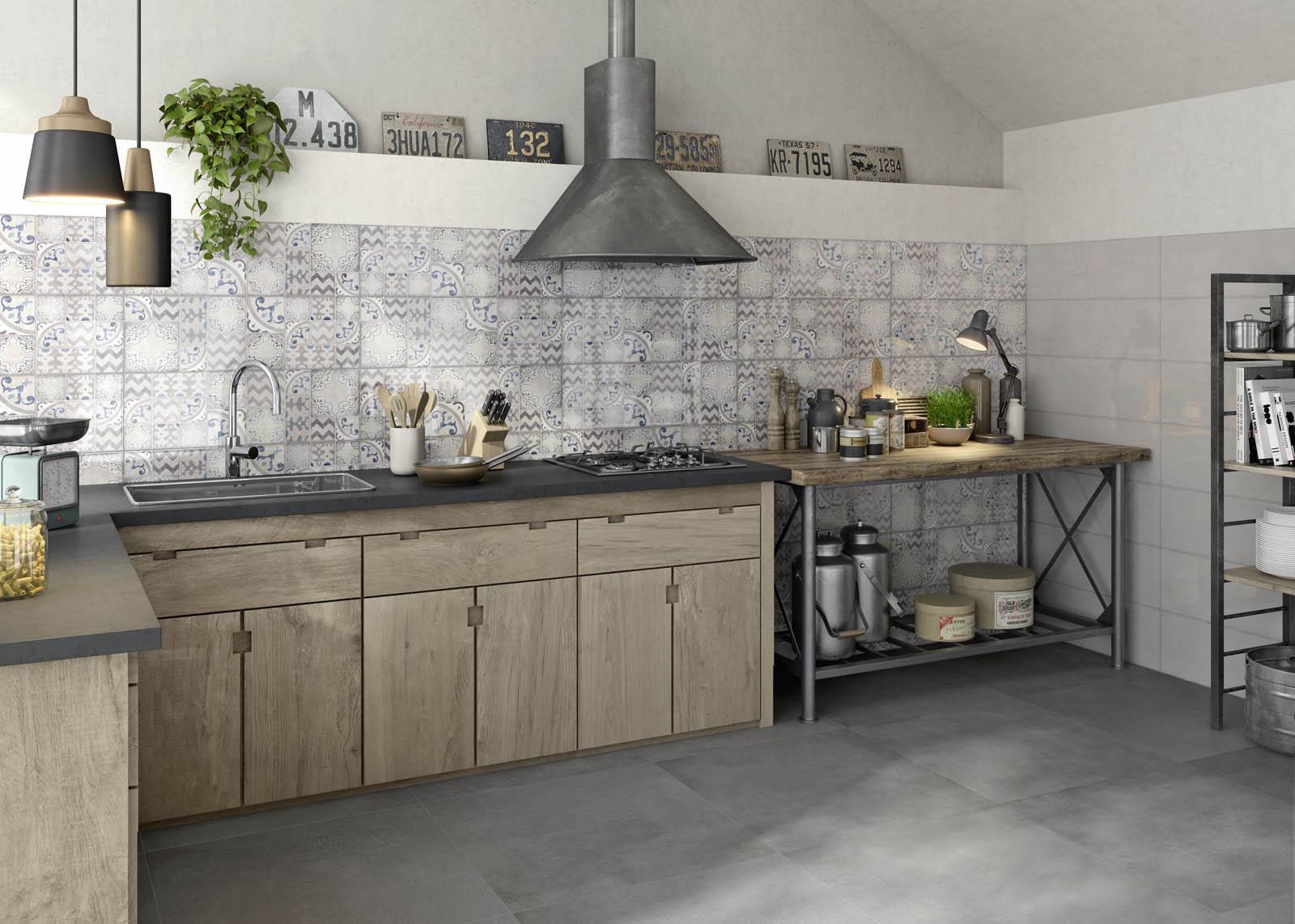 Die perfekten wandfliesen für die küche im industrial style marazzi