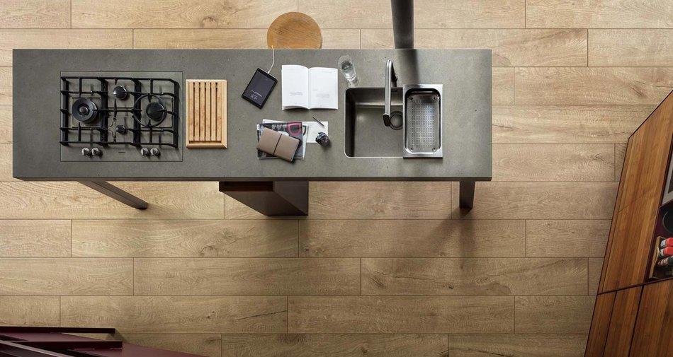 Küche in Beige, Grau oder Taupe? Fliesen in neutralen Farben ...
