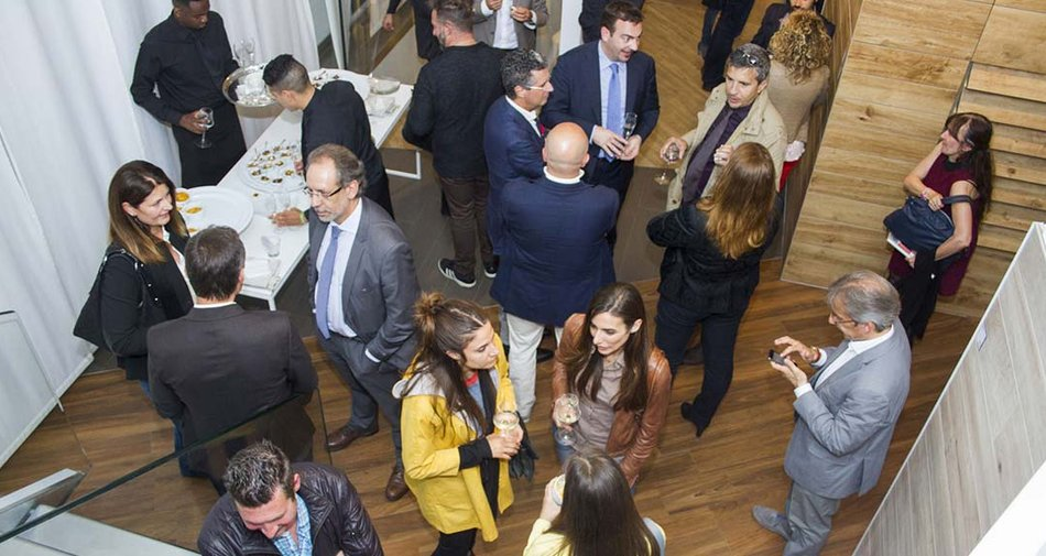 Foodies' Party im Marazzi Showroom in Mailand
