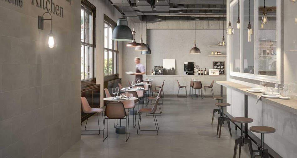 The new SistemP technical stoneware by Marazzi.