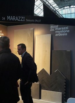 Marazzi in London mit Architect@work