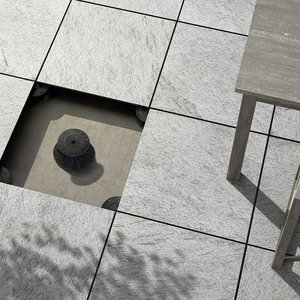 Raised pavings: discover the 20mm stoneware pavings