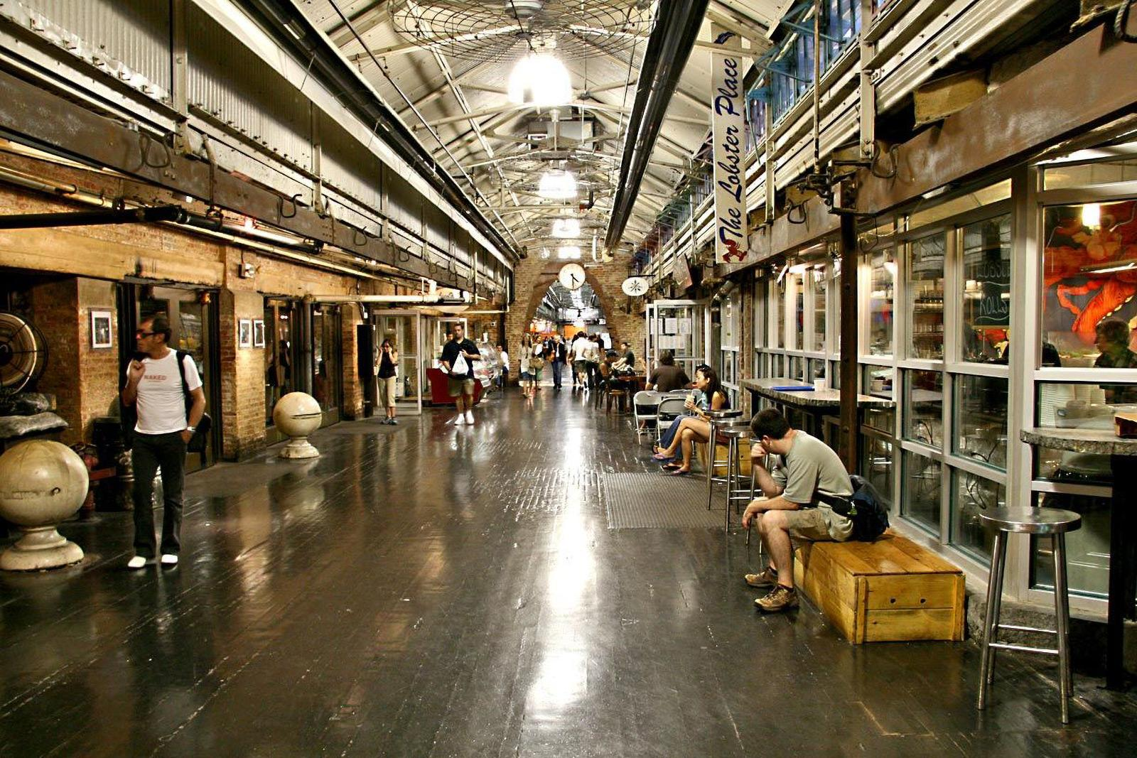 The Penny Food Hall_New York