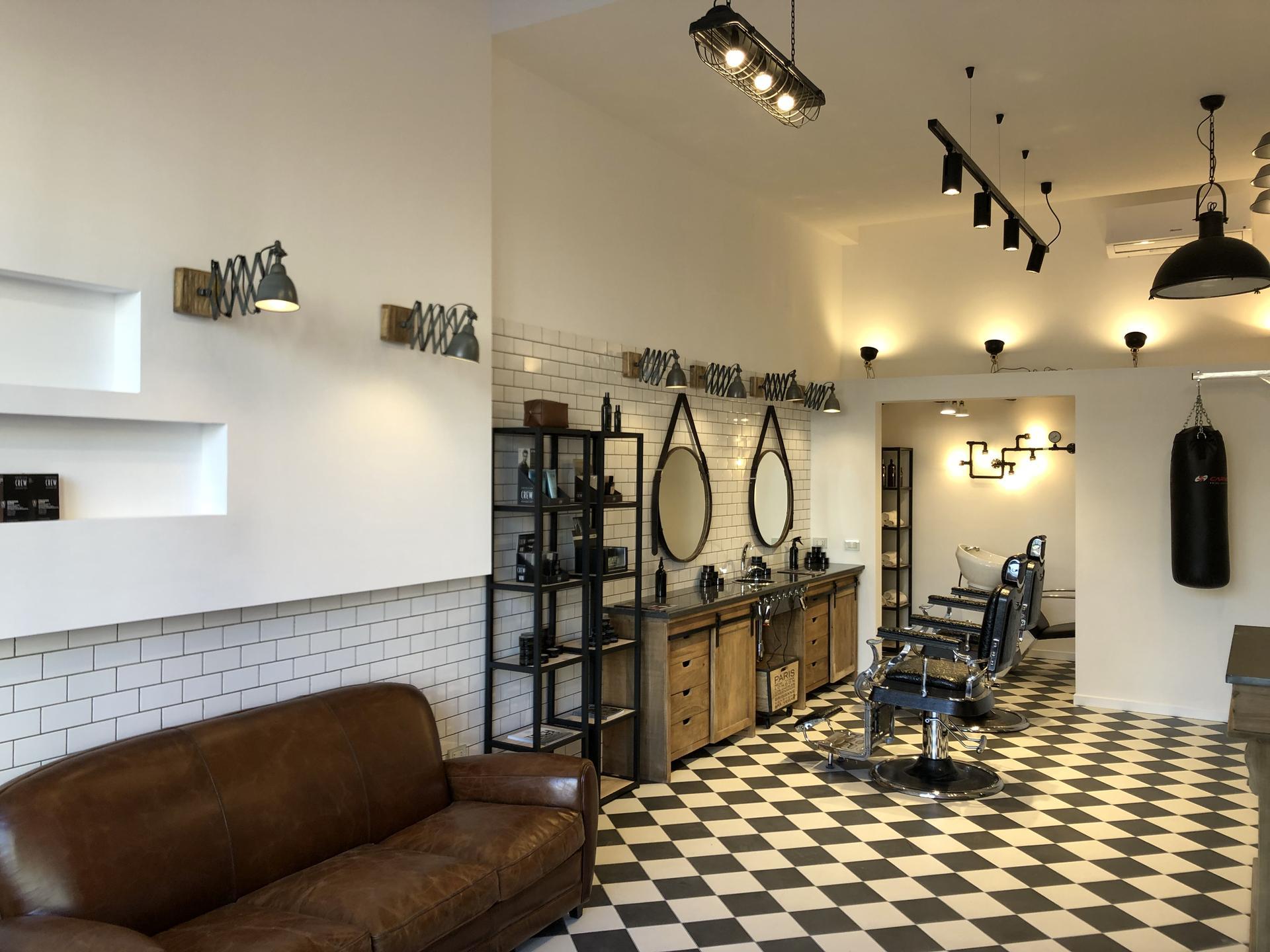 Fliesen Im VintageStil Für Den Barbershop In Tarent Marazzi - Fliesen vintage stil