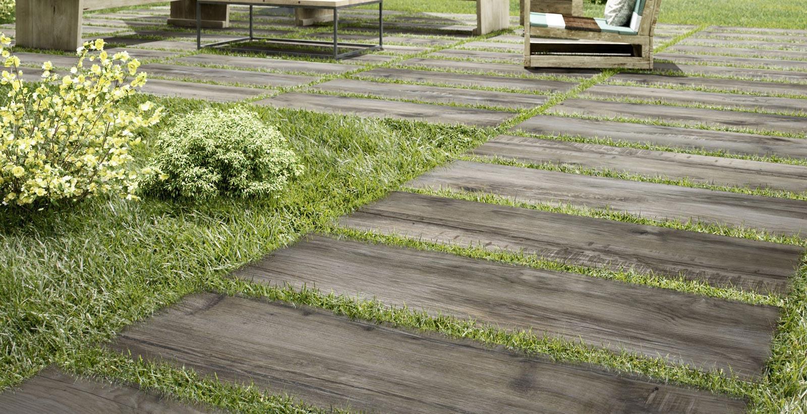 Gartenfliesen: Steinzeug Für Den Außenbereich