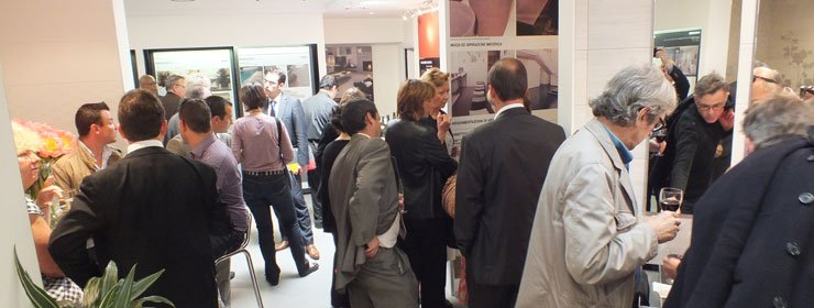 New Marazzi showroom in Paris