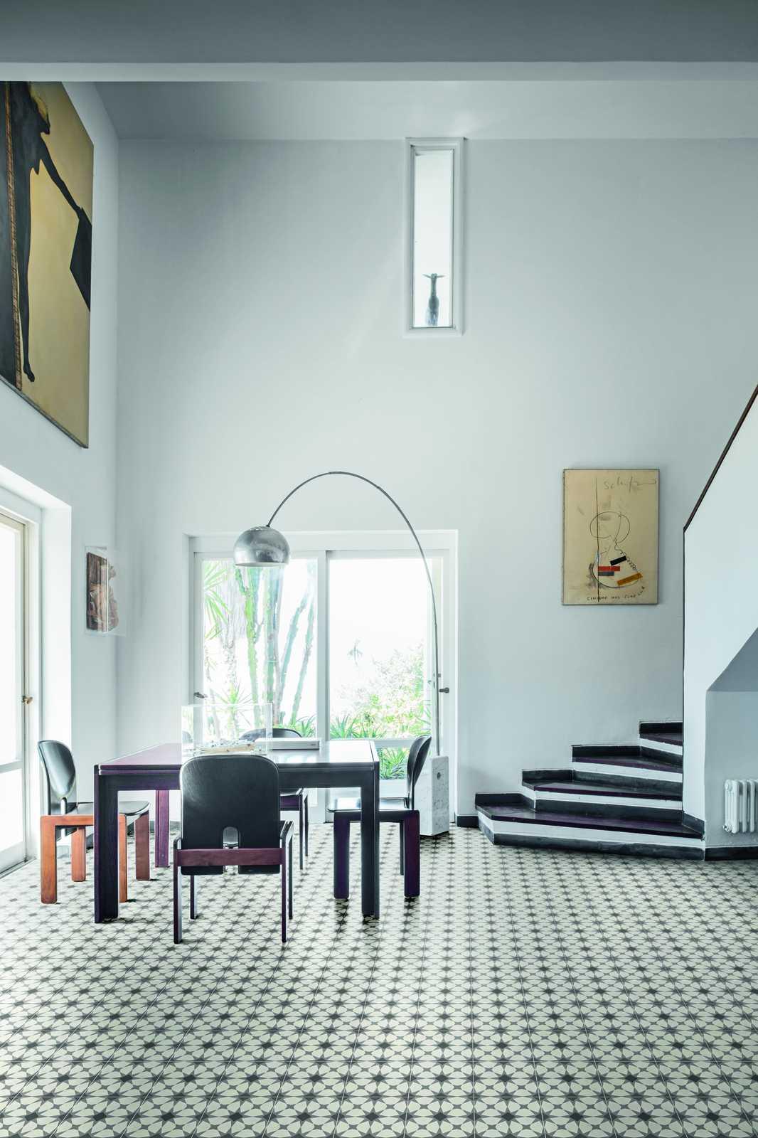 d segni feinsteinzeug in zementfliesen optik marazzi. Black Bedroom Furniture Sets. Home Design Ideas