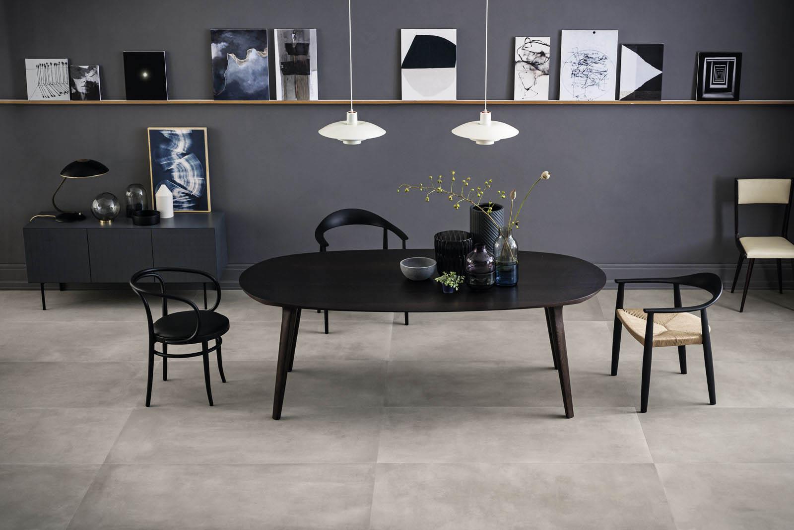 Fliesen Fr Das Wohnzimmer Gestaltungideen Mit Keramik Und Feinsteinzeug
