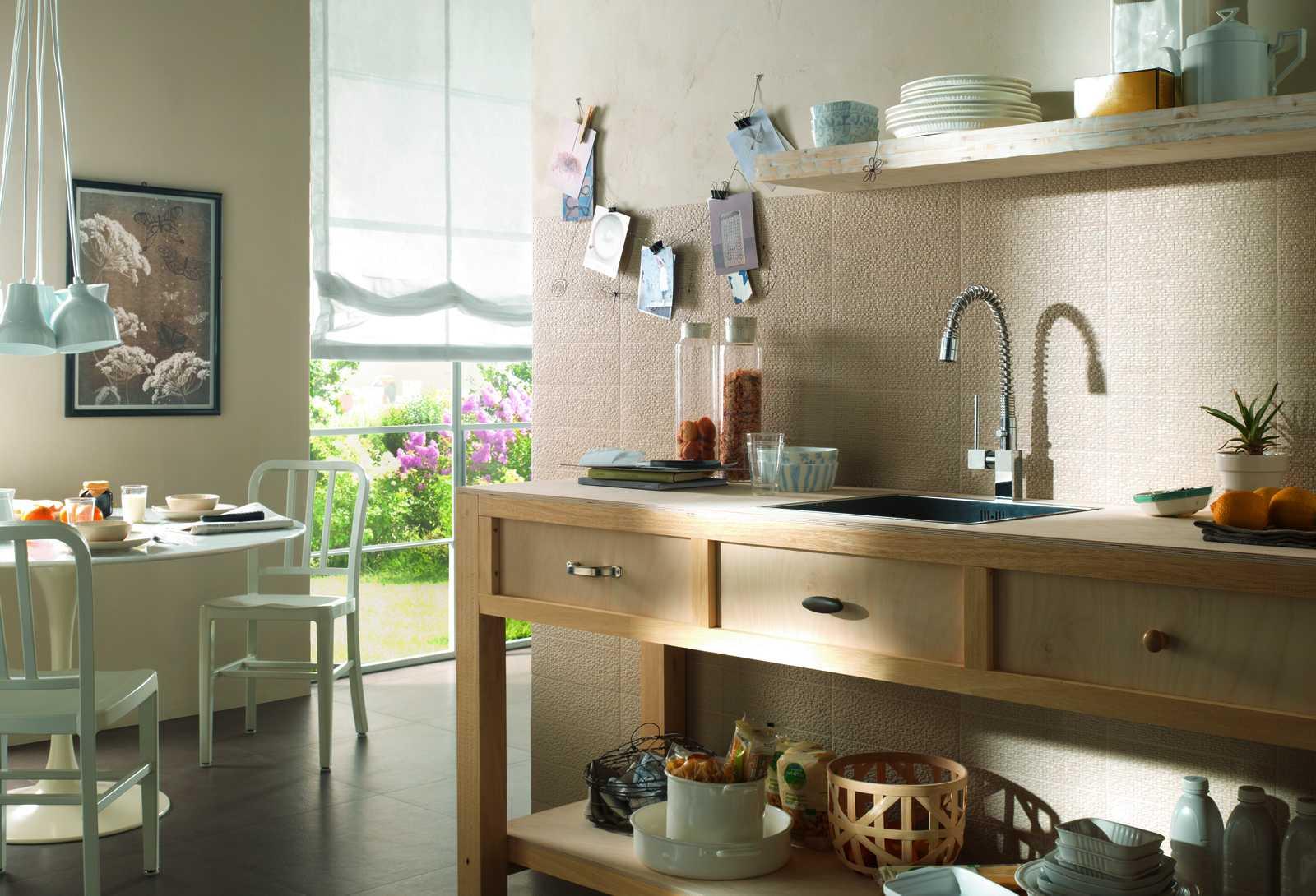 fliesen f r die k che marazzi. Black Bedroom Furniture Sets. Home Design Ideas