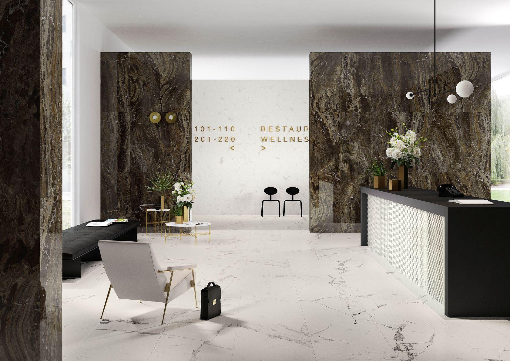fliesen in marmoroptik marazzi. Black Bedroom Furniture Sets. Home Design Ideas