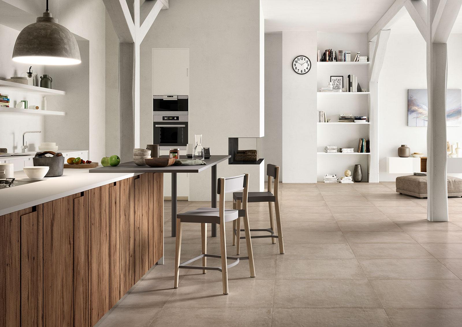 Clays feinsteinzeug in cotto optik marazzi - Tipos de suelos para casas ...