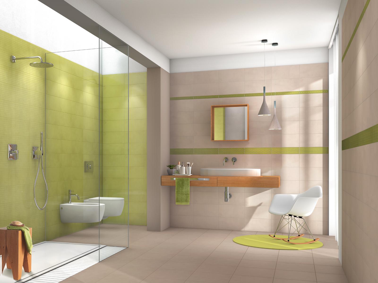 Badezimmer fliesen holzoptik grün  Fliesen in der Farbe Grün: Unsere Kollektionen | Marazzi