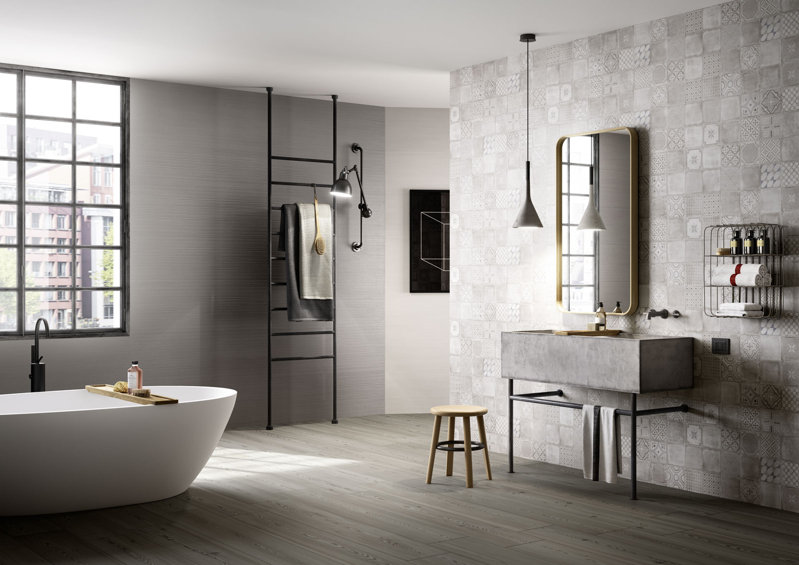 Mosaik Fliesen Dusche Pflege : Marazzi Porcelain Tile in Bathrooms