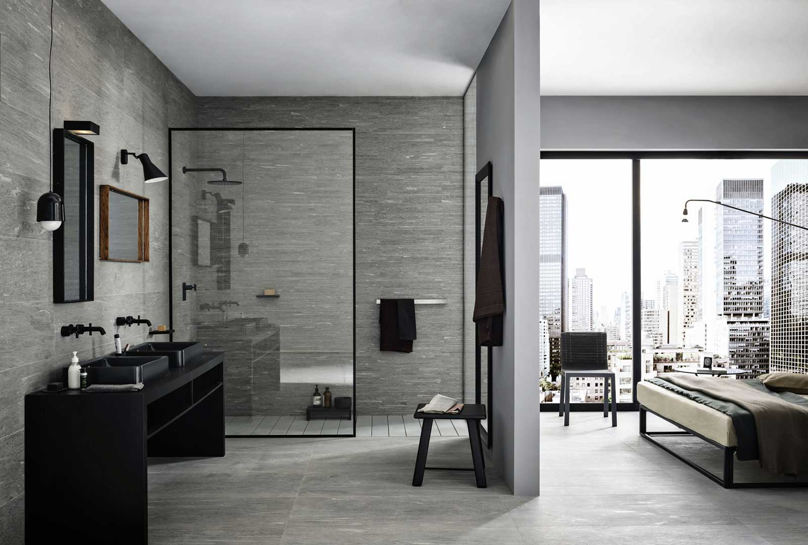 mystone pietra di vals steinzeug in steinoptik marazzi. Black Bedroom Furniture Sets. Home Design Ideas