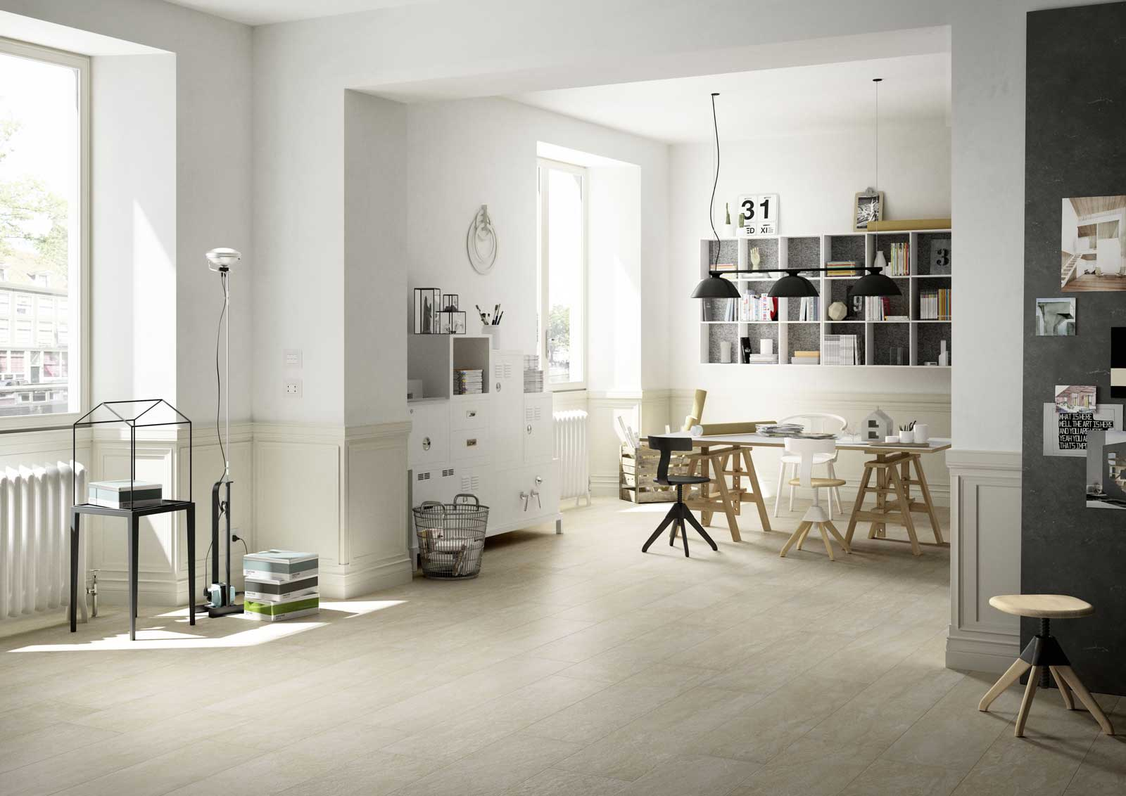 fliesen in steinoptik marazzi. Black Bedroom Furniture Sets. Home Design Ideas