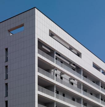 Vorgehängte, hinterlüftete Fassade, Stadterneuerung