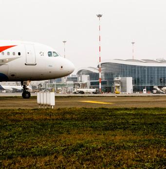 Internationaler Flughafen Henri Coanda - gres cristallizzato