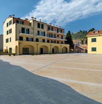 Piazza di Borgo Prino in Imperia